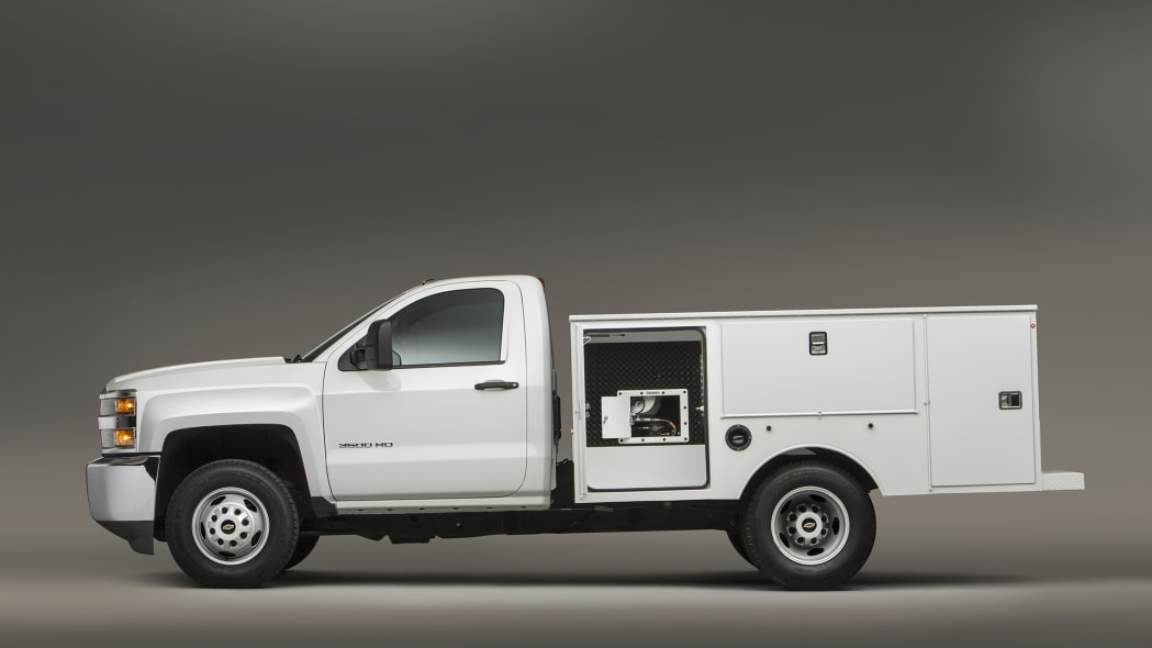 2016 Chevy Silverado 3500HD CNG profile