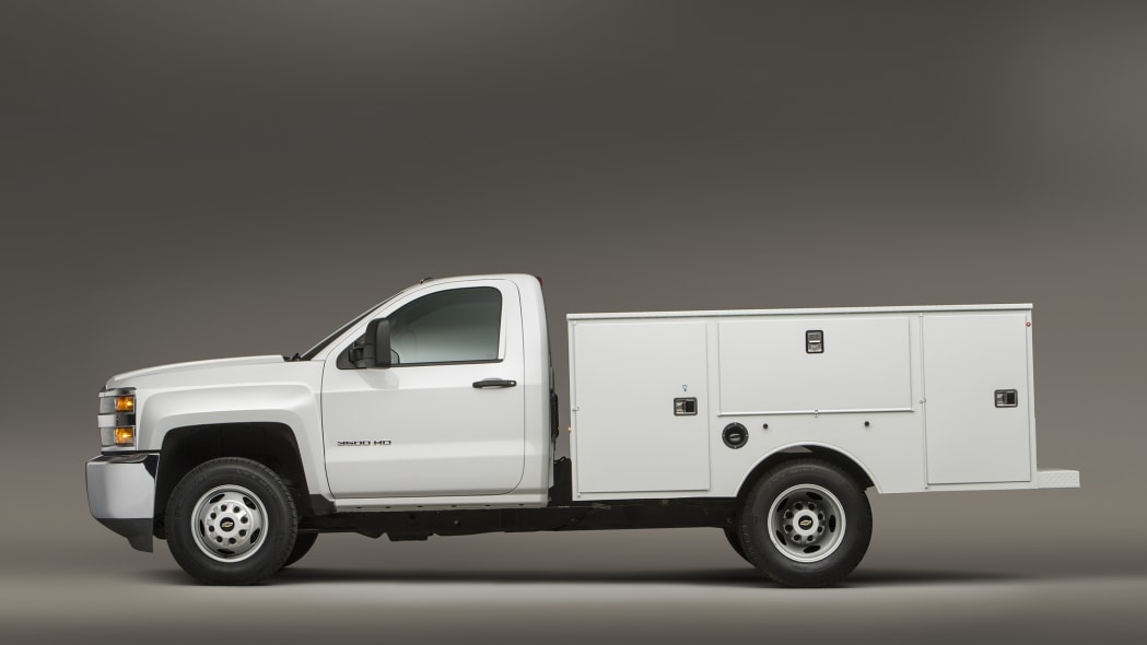 Chevy Silverado 3500HD CNG