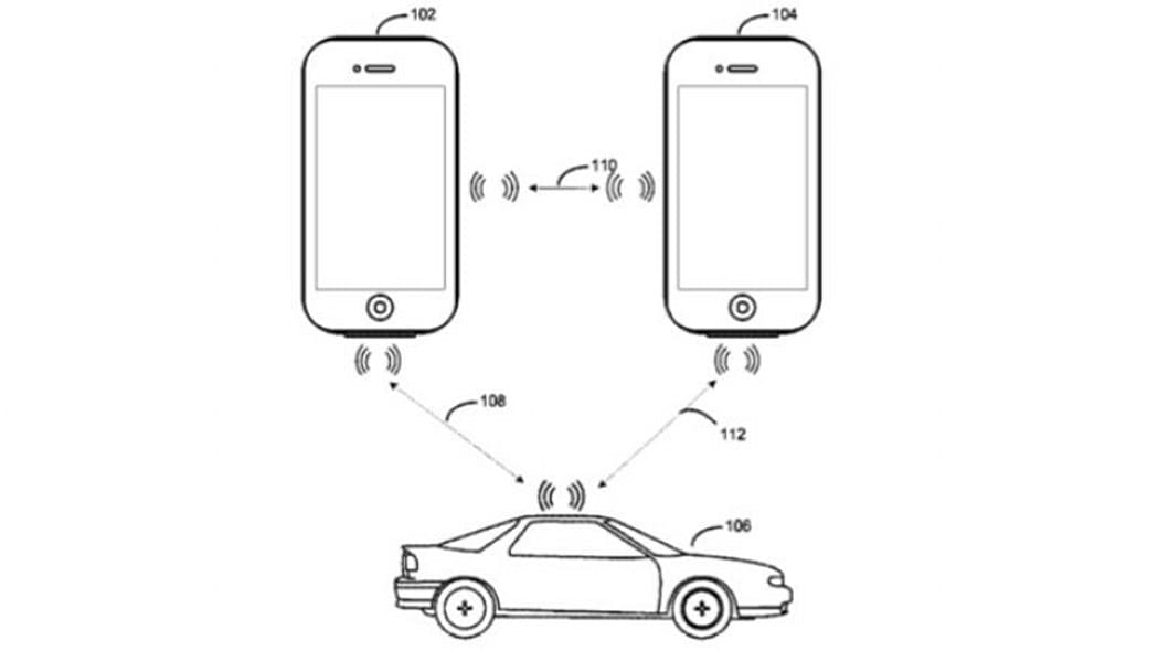 Apple iPhone Car Key Patent