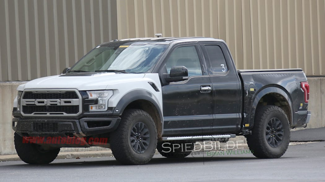 Ford F-150 Raptor prototype front 3/4