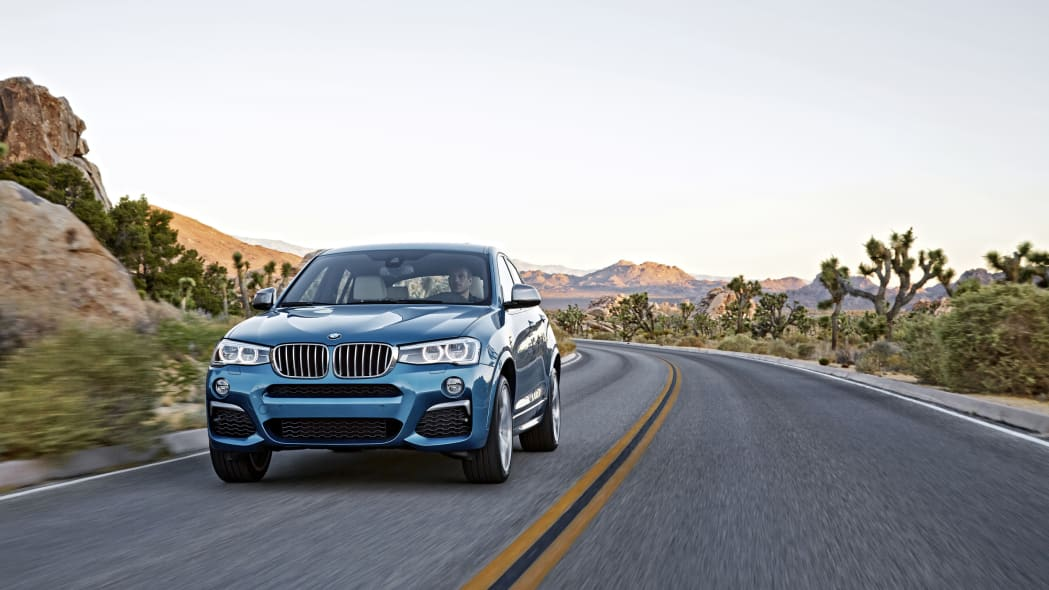 BMW X4 M40i front driving
