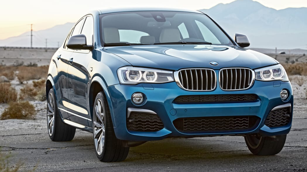 BMW X4 M40i front nature