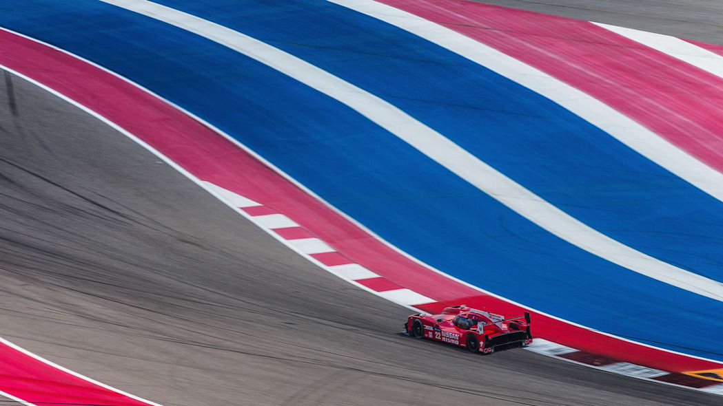 Nissan GT-R LM Nismo LMP1 Circuit of the Americas track testing