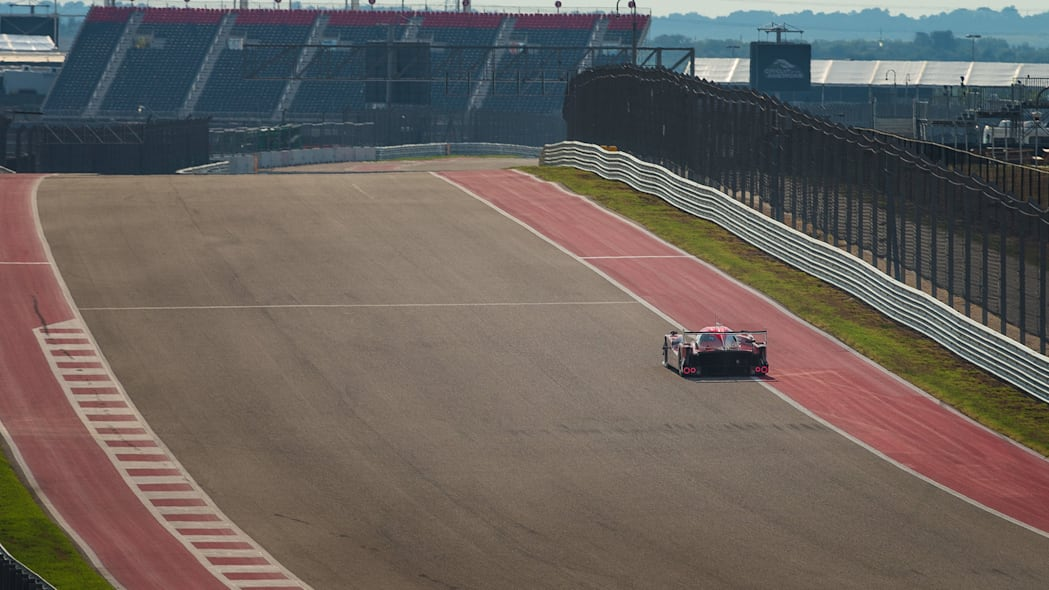 Nissan GT-R LM Nismo LMP1 Circuit of the Americas track