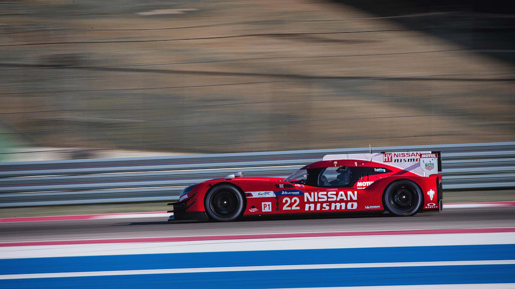 Nissan GT-R LM Nismo Circuit of the Americas track testing