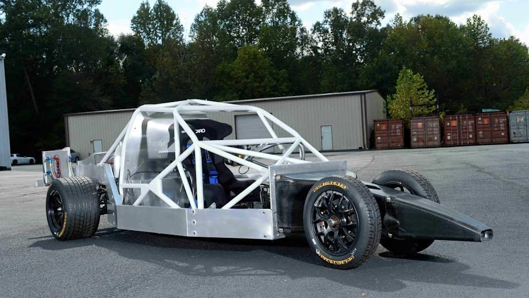Deltawing GT chassis side
