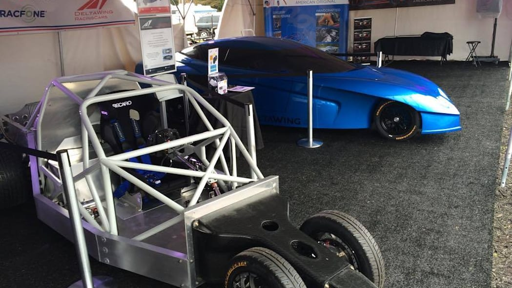 Deltawing GT concept display