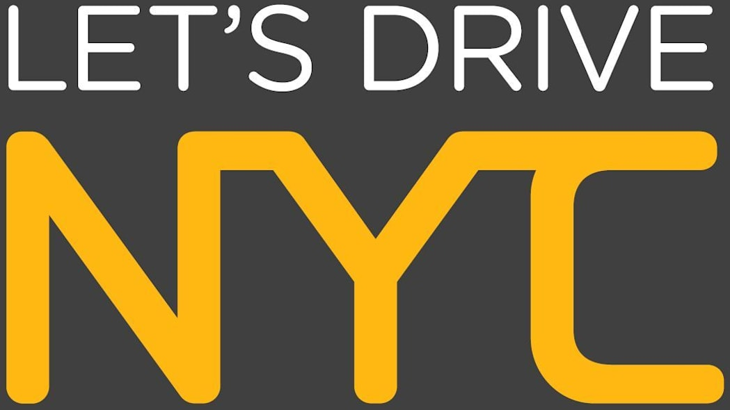 GM's Let's Drive NYC carsharing program logo