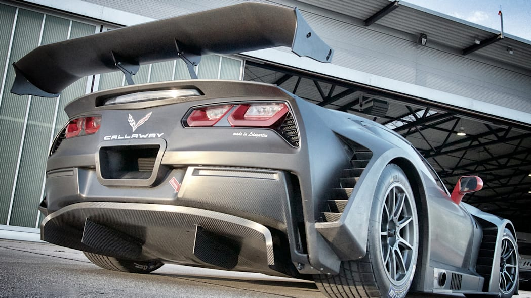 Callaway Chevy Corvette C7 GT3-R rear 3/4