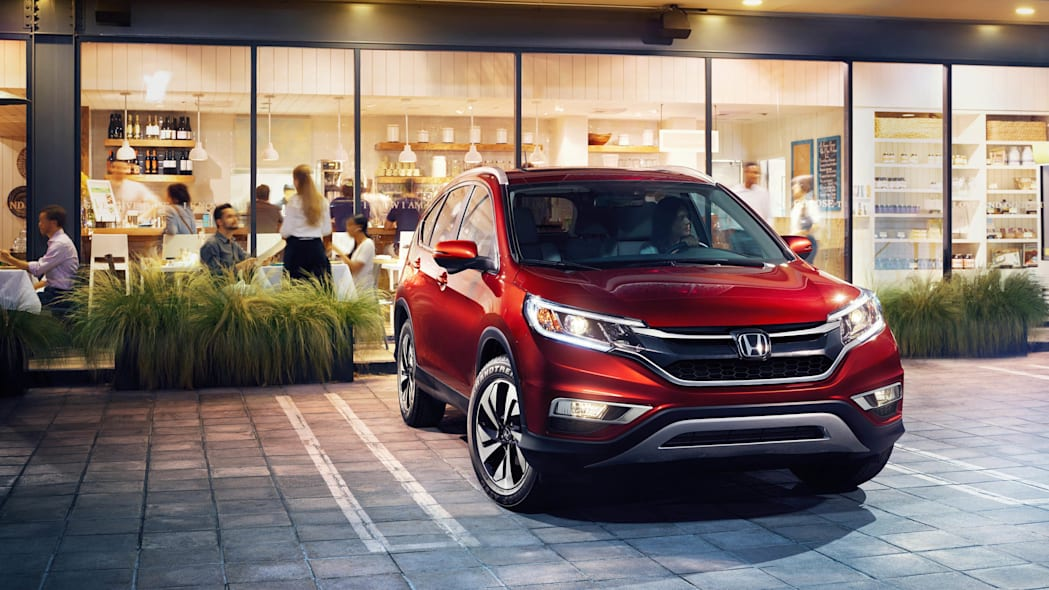 2016 Honda CR-V restaurant red