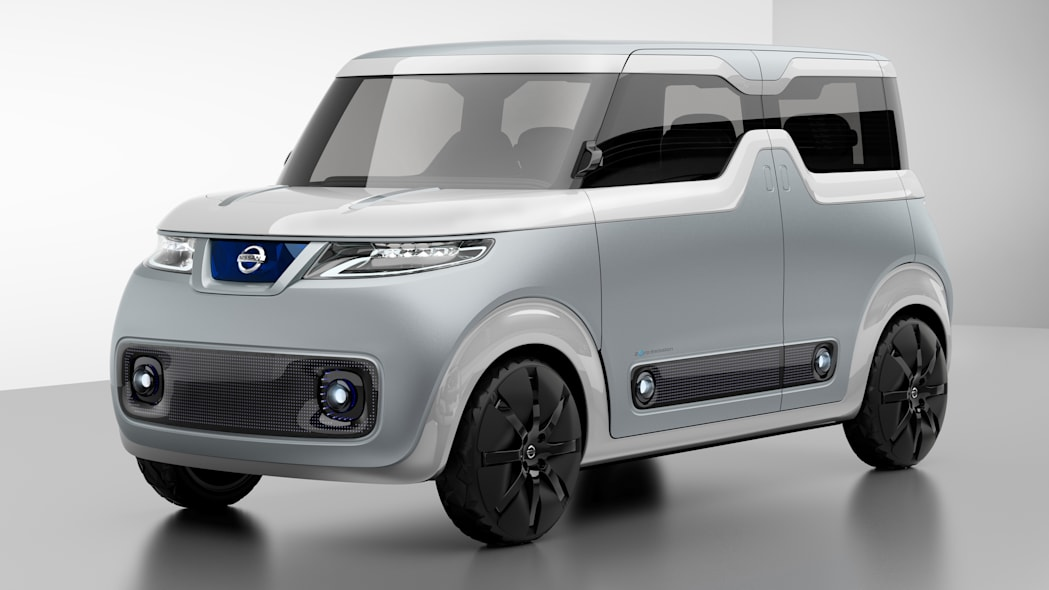 Nissan Teatro for Dayz Concept front 3/4 lightbox