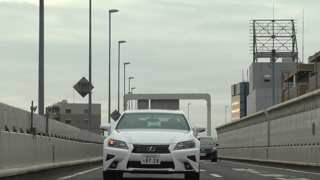lexus gs toyota highway teammate on the road