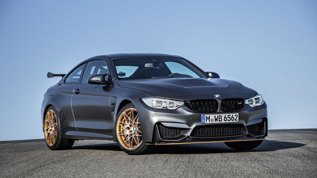 2016 BMW M4 GTS at the track