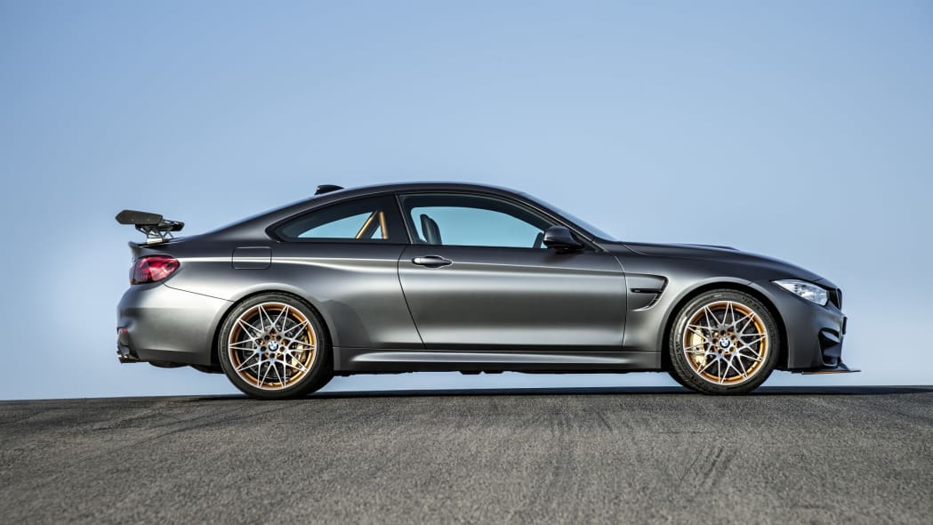 2016 BMW M4 GTS side profile, the other way!