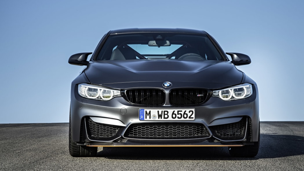 2016 BMW M4 GTS dead front view