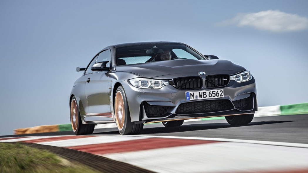 2016 BMW M4 GTS is all dynamic and stuff