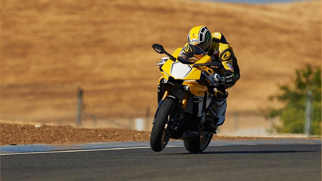 Yamaha YZF-R1 60th Anniversary Livery course