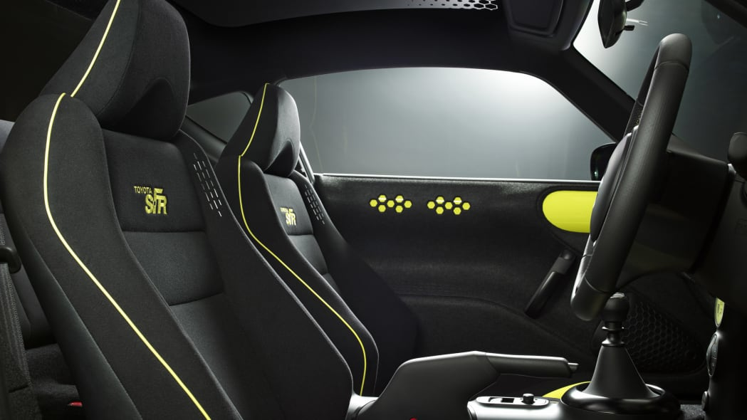 Toyota S-FR Concept seats