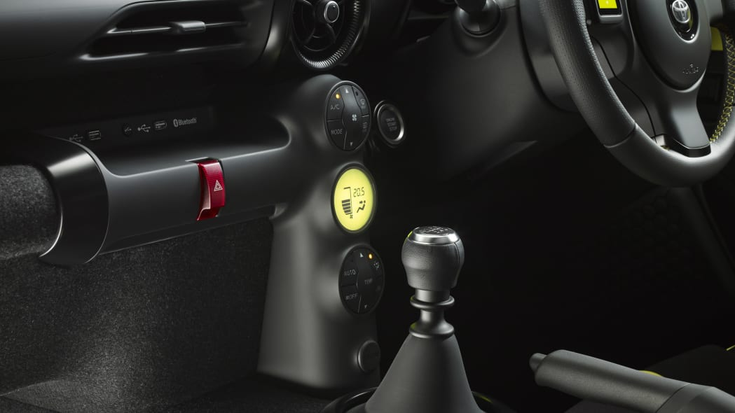 Toyota S-FR Concept shifter