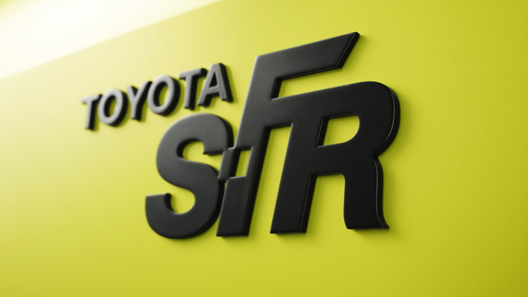 Toyota S-FR Concept nameplate badge