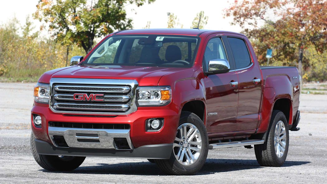 2016 GMC Canyon Diesel front 3/4