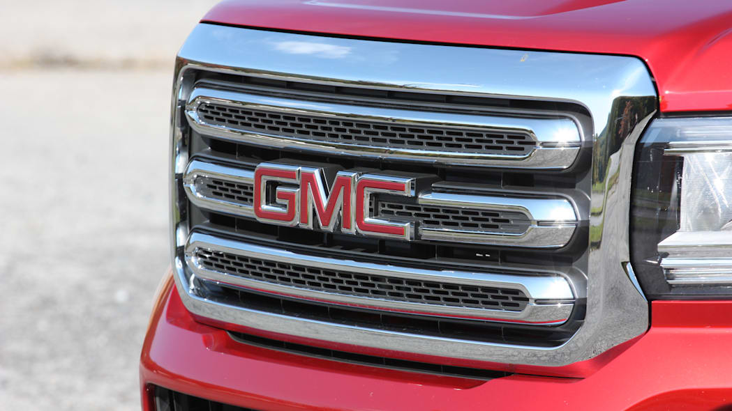 2016 GMC Canyon Diesel grille