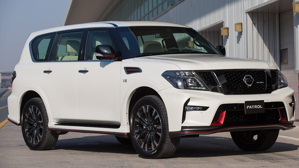 Nissan Patrol Nismo front 3/4