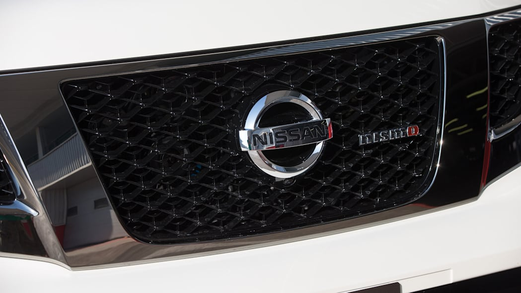 Nissan Patrol Nismo grille