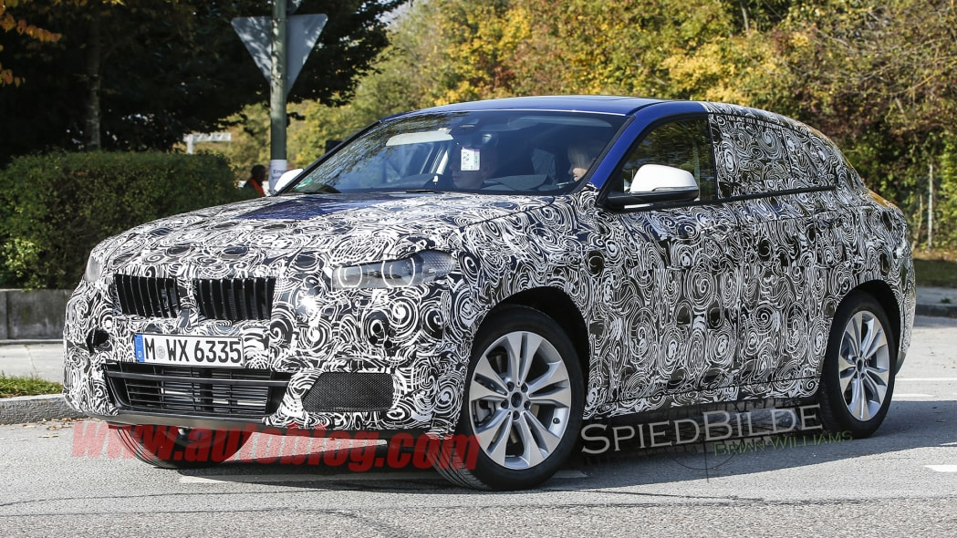 cuv bmw x2 2017 spied camouflage