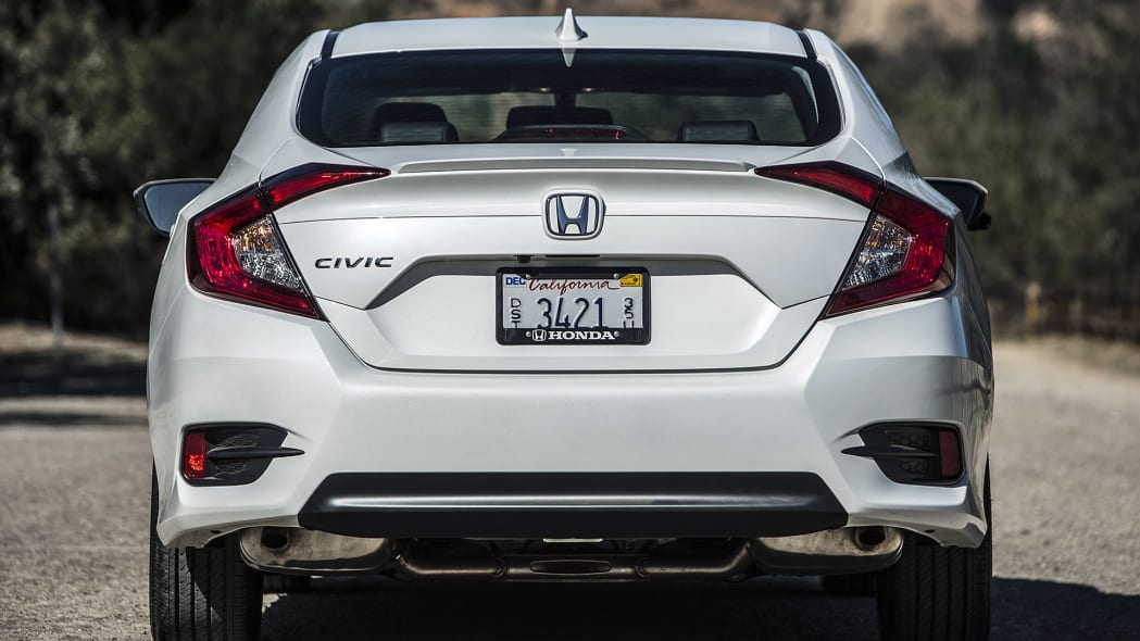 2016 Honda Civic rear view