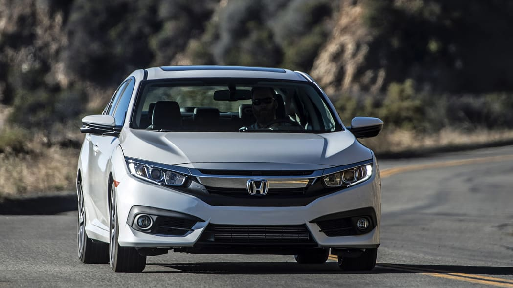 2016 Honda Civic driving