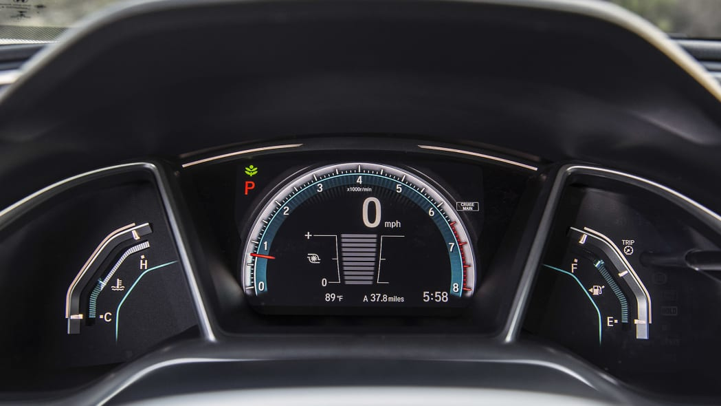 2016 Honda Civic gauges