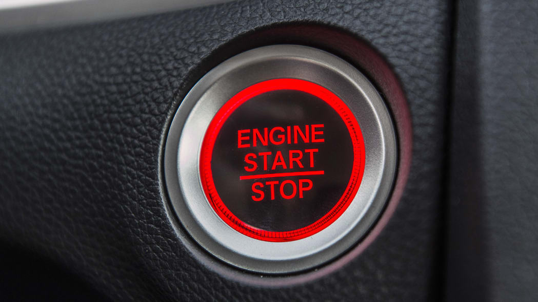 2016 Honda Civic start button