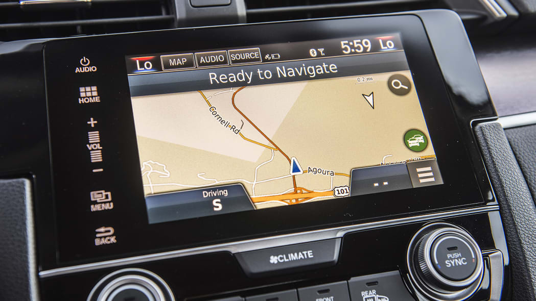 2016 Honda Civic navigation system