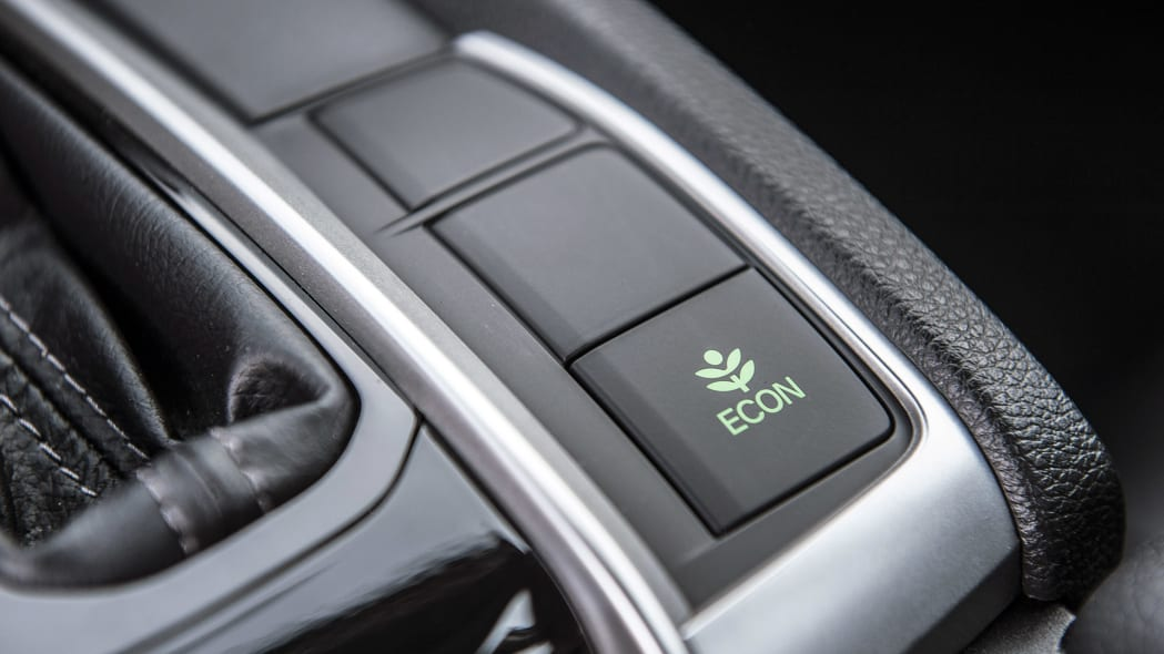 2016 Honda Civic ECON button