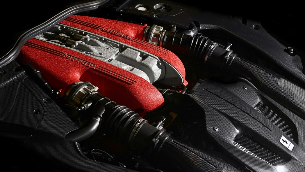Ferrari F12 TdF engine
