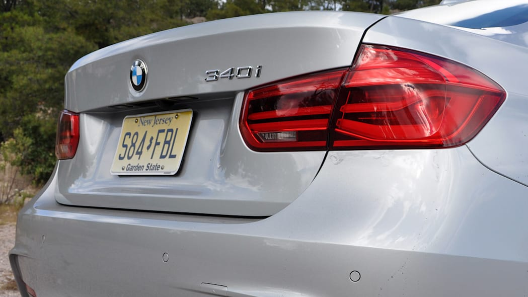 2016 BMW 3 Series rear detail