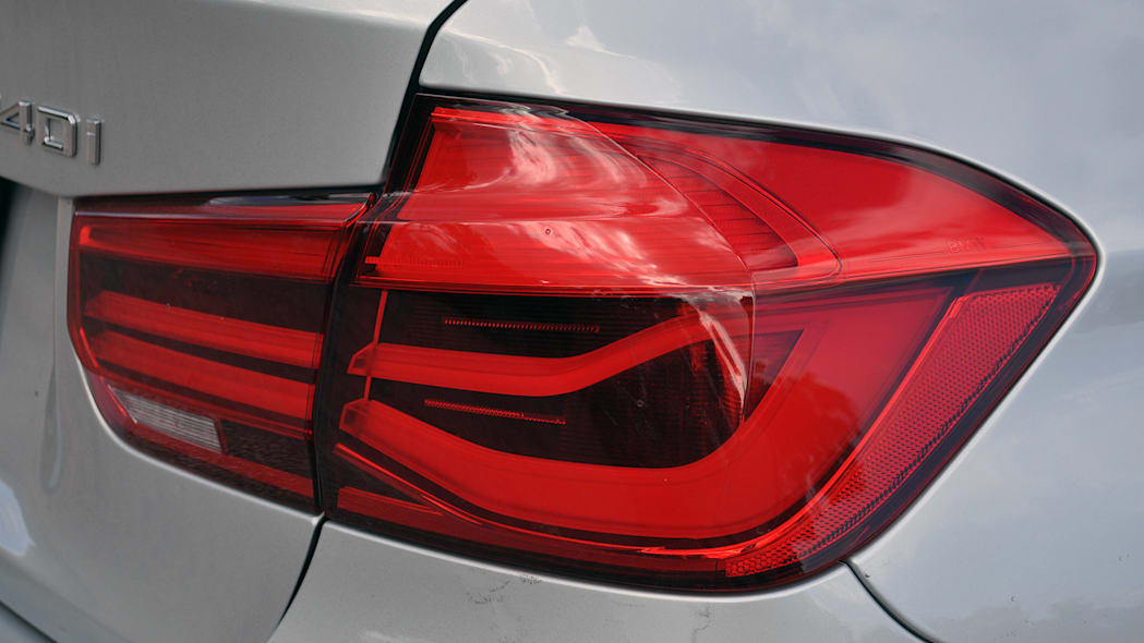 2016 BMW 3 Series taillight