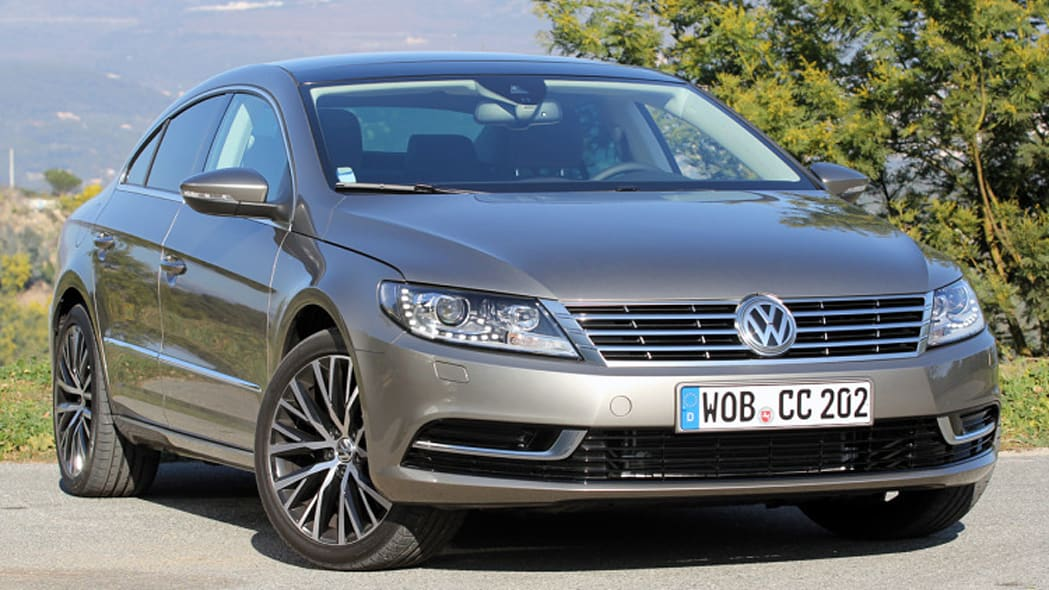 Volkswagen CC front angle