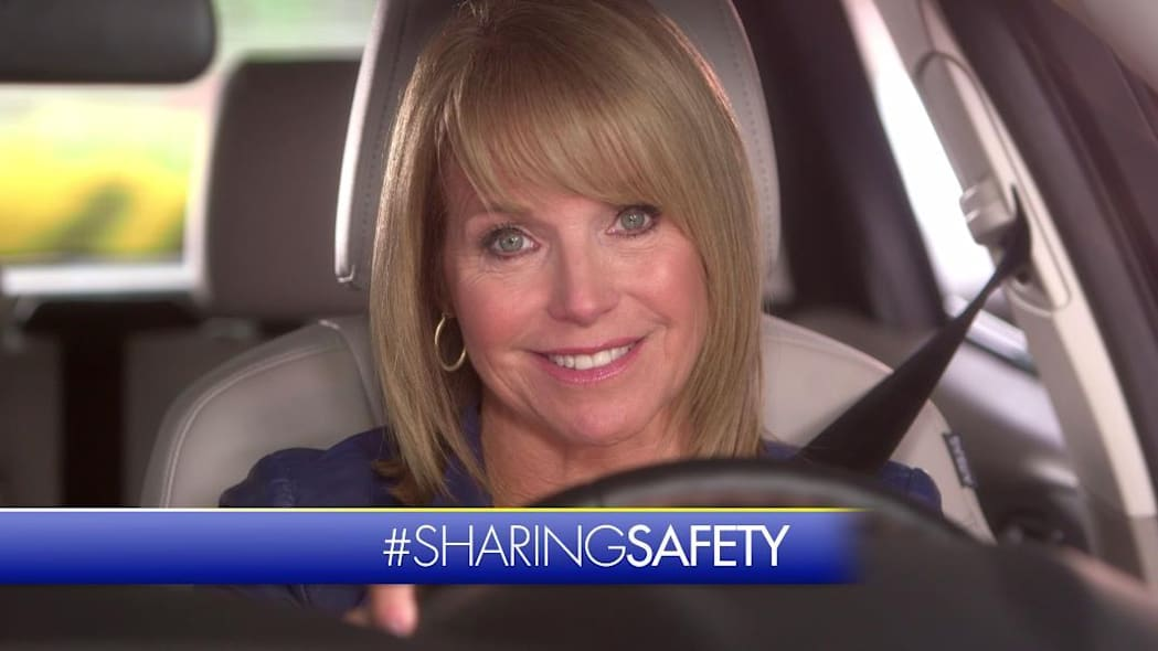 katie couric in sharing safety ad