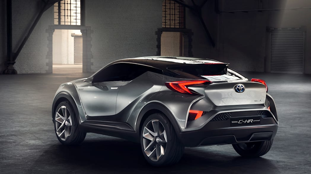 toyota c-hr rear design
