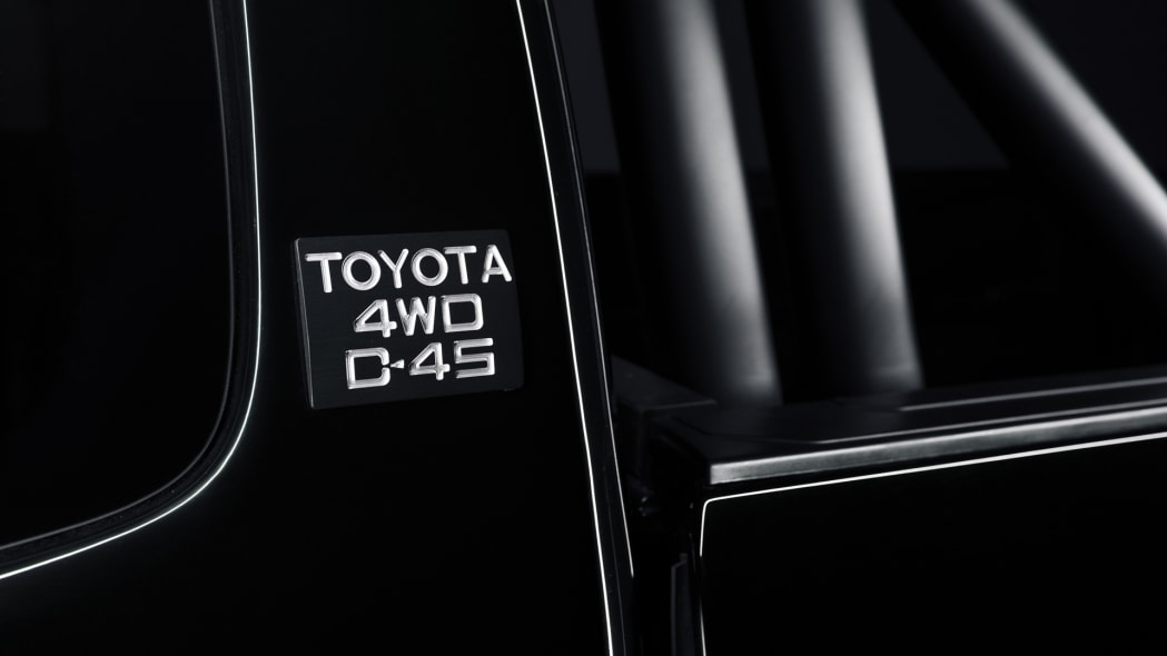toyota 4wd d-4s badge tacoma back to the future