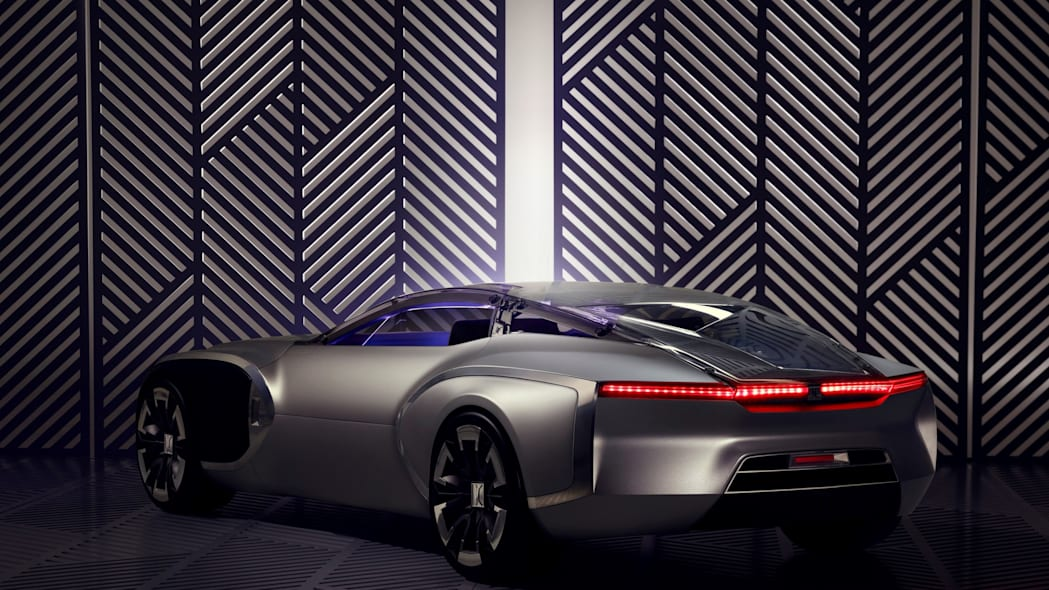 renault coupe corbusier concept rear three quarters