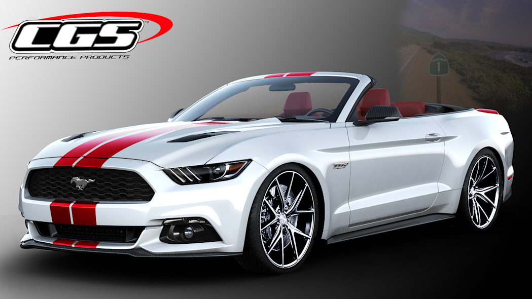Ford Mustang Convertible by CGS