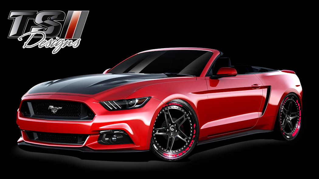 Ford Mustang Widebody by TS Designs