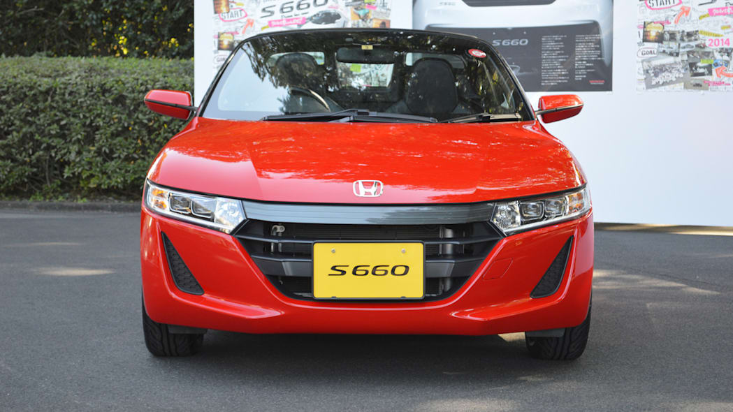honda s660 red front grille