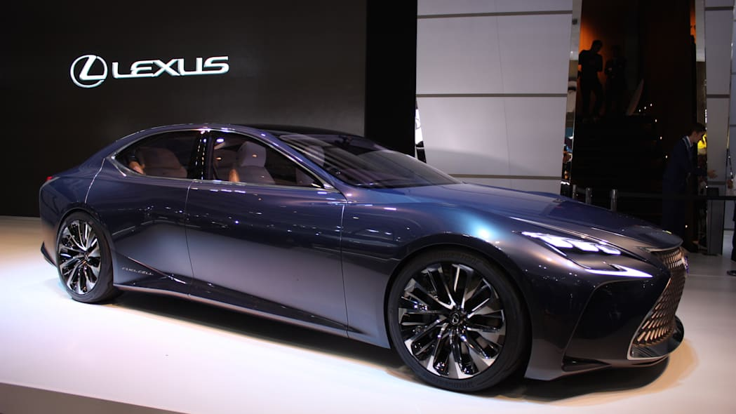Lexus LF-FC at the Tokyo Motor Show