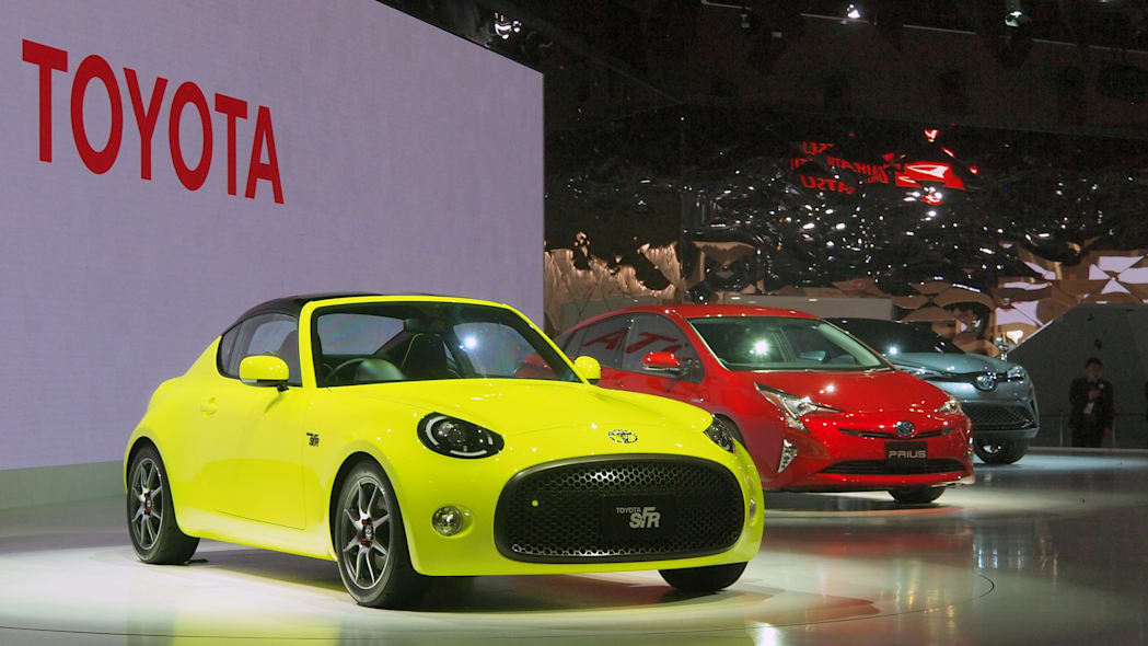 Toyota S-FR Concept, new Prius, CH-R