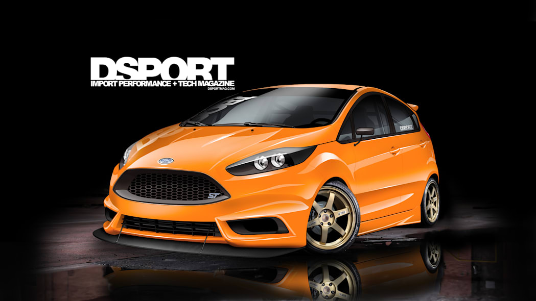 Ford Fiesta ST by DSport