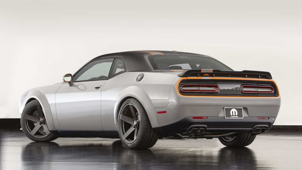 dodge challenger gt awd concept rear three quarters